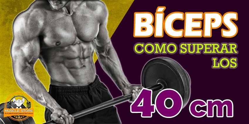 Cómo aumentar bíceps más 40cm