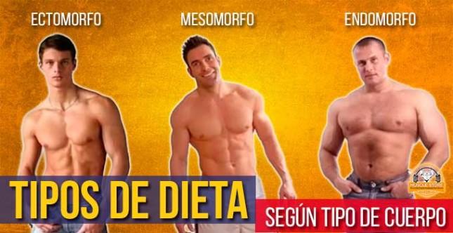 Tipos de dieta según tipos de cuerpo